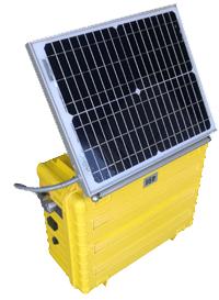 Alarme solaire de détection